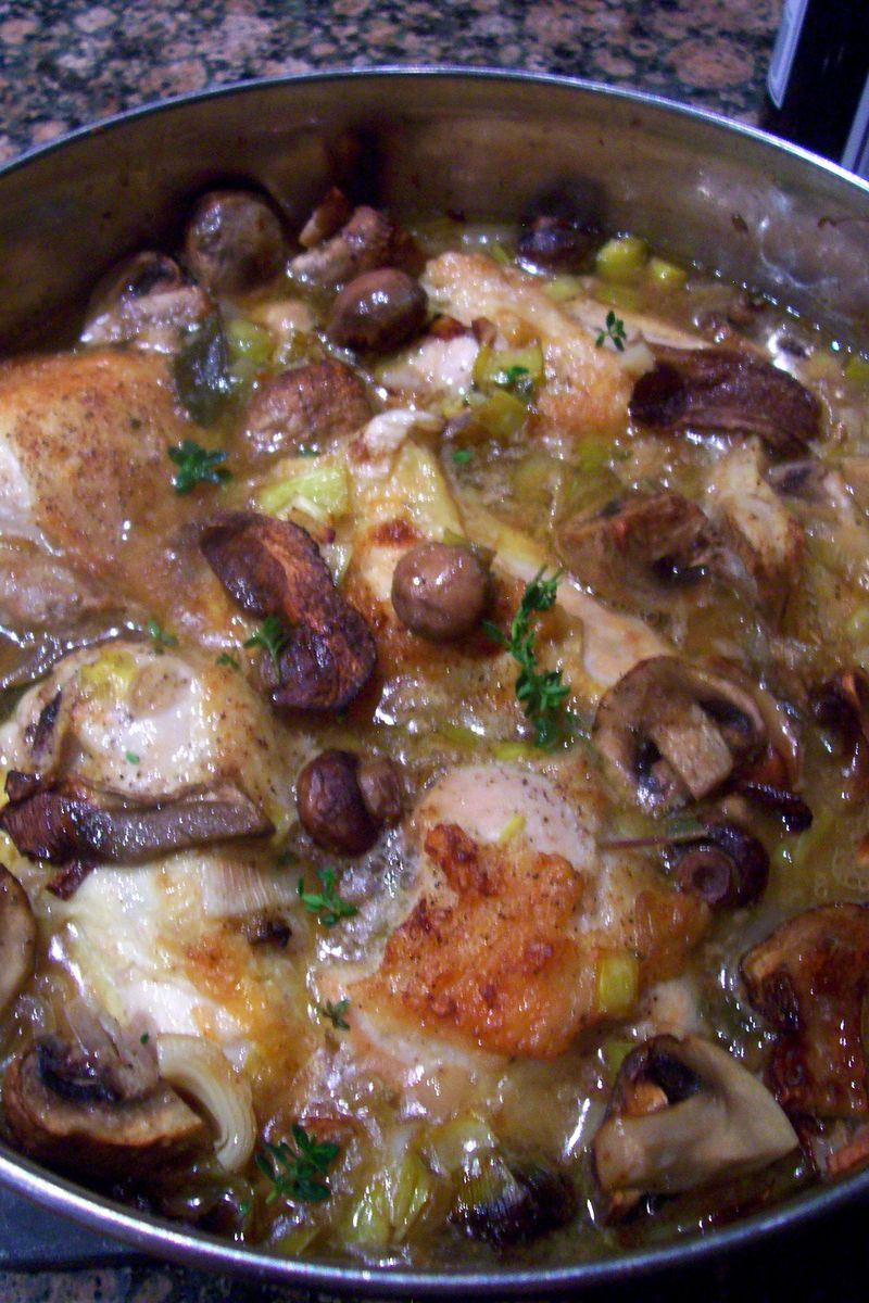 Braised chicken 005